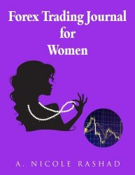 Forex Trading Journal for Women: (4 trades/page, 180 trade pages) (8.5 x 11) Purple