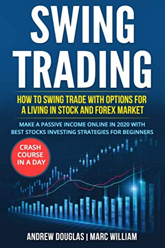 SWING TRADING: How to swing trade with options for a living in stock and forex market. Make a Passive Income Online in 2020 with Best Stocks Investing strategies for beginners. Crash course in a Day
