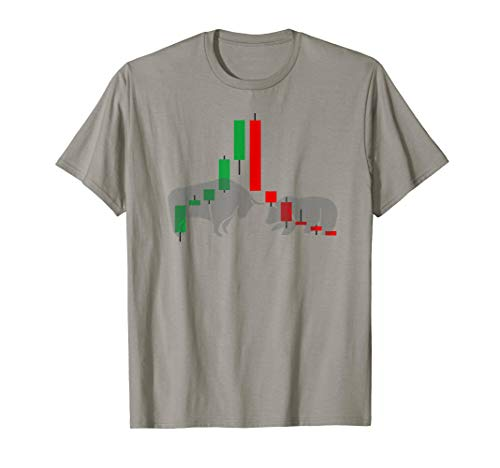 Forex Trading Stock Market T-Shirt Candlesticks