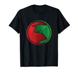 Money Wealth Stock Trader Bear Vs Bull Market T-Shirt